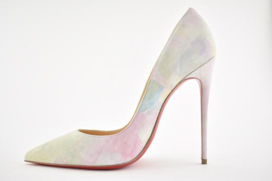 Christian Louboutin Sokate Kate Pigalle Stiletto Suede Pink Pumps Image 6