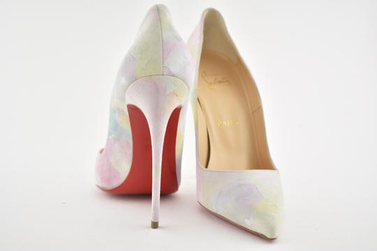 Christian Louboutin Sokate Kate Pigalle Stiletto Suede Pink Pumps Image 8