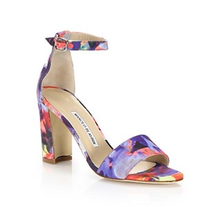 Manolo Blahnik Multicolor Sandals
