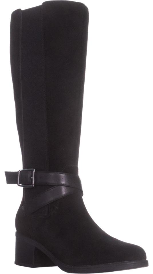 Clarks Black Women's Nevella March Boots/Booties Riding Boots/Booties March b80c54