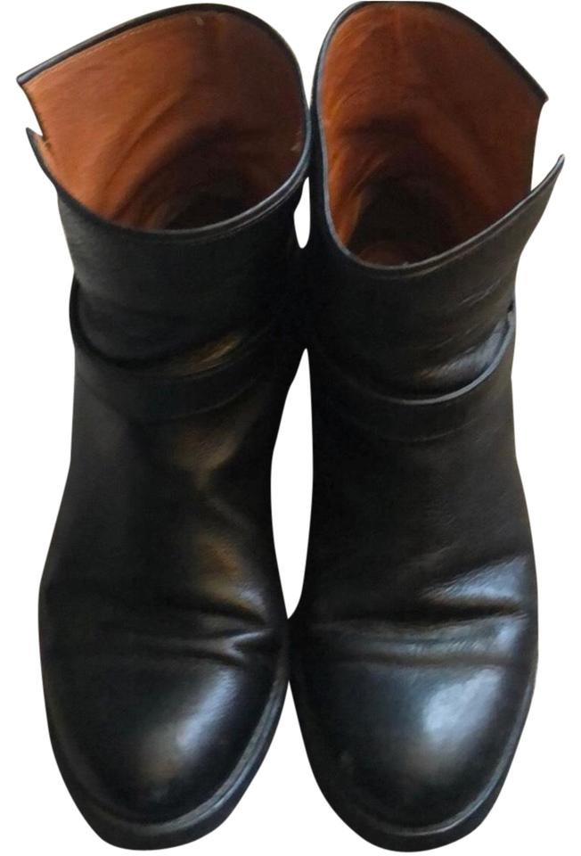 LADY Madewell Madewell Madewell Black Leather Biker Boots/Booties Really 126f10