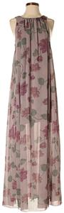 Maxi Dress by Free People Sleeveless Floral Print Maxi Halter