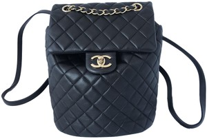 Chanel Lambskin Leather Backpack