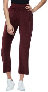 Good American High Waisted Velour Pant
