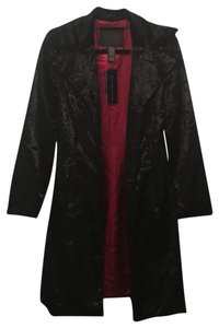 Guess Faux Velvet Fur Coat