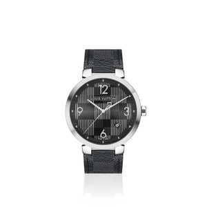 Louis Vuitton TAMBOUR DAMIER GRAPHITE 39
