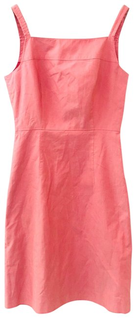 Item - Pink Strapless A Mid-length Work/Office Dress Size 2 (XS)