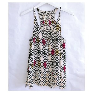 Twelfth St. by Cynthia Vincent Top white multi colors