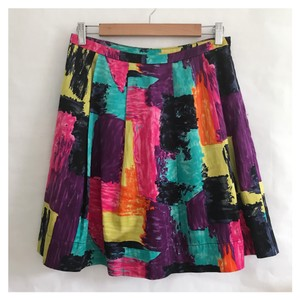 Trina Turk Mini Skirt multi colors