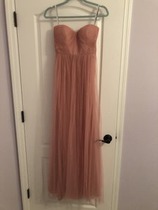 Jenny Yoo Pink Annabelle Formal Bridesmaid/Mob Dress Size 4 (S)