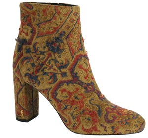 Saint Laurent Party Ysl Yves Fabric 7091205 Multi Boots