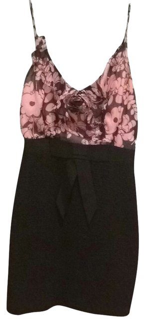 Preload https://item2.tradesy.com/images/milly-black-and-pink-cocktail-dress-size-0-xs-2346481-0-0.jpg?width=400&height=650