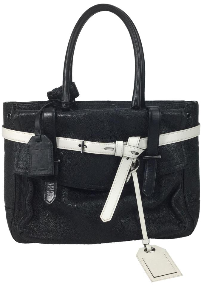 0d939c9bc1 Reed Krakoff Boxer Black Leather Satchel - Tradesy