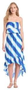blue Maxi Dress by Lilly Pulitzer Hi Lo Resort Collection Maxi Beachdress