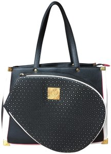 Court Couture Tote in Black