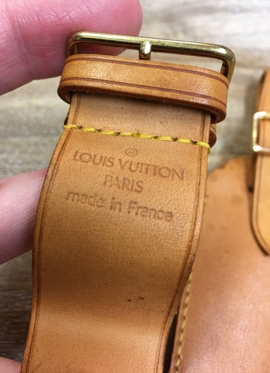 Louis Vuitton Luggage tag and handle holder Image 2