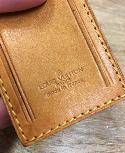 Louis Vuitton Luggage tag and handle holder Image 4