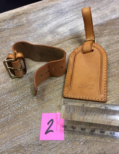 Louis Vuitton Luggage tag and handle holder Image 5
