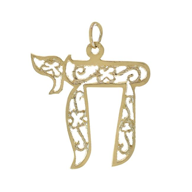 Item - Yellow Gold 14k Chai Pendant