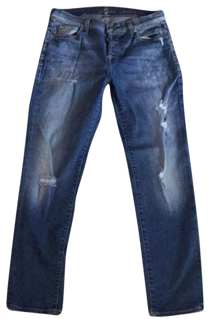 Item - Blue Medium Wash 1234 Straight Leg Jeans Size 4 (S, 27)