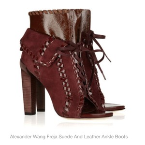 Alexander Wang Brick Red Boots