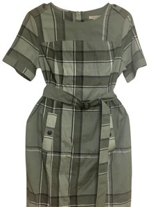Burberry short dress moss green on Tradesy