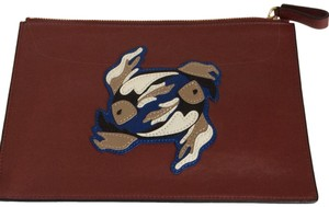Diane von Furstenberg Diane von Furstenberg Zodiac Pisces Leather Pouch/ wallet