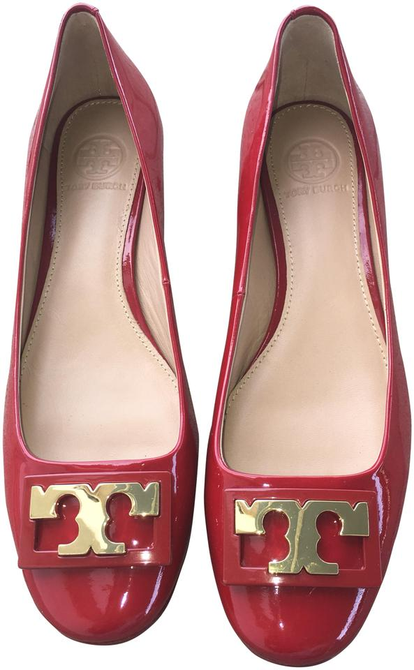 11bd0f57a616 Red Tory Burch Pumps - Up to 90% off at Tradesy