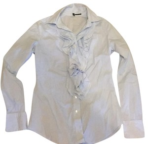 United Colors of Benetton Button Down Shirt blue