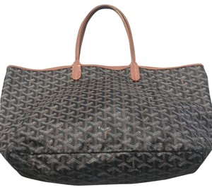 Goyard Tote in brown and black