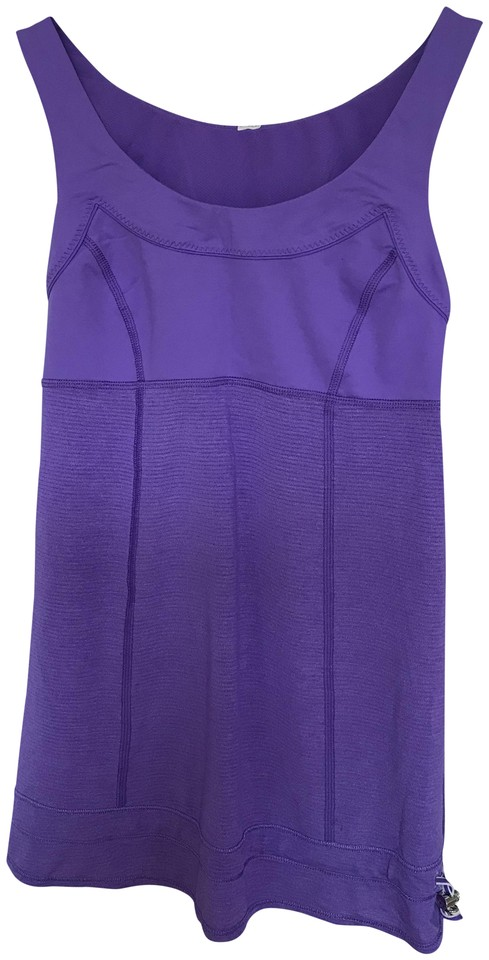 086aff38393cd8 Lululemon Purple Tame Me Activewear Top Size 4 (S) - Tradesy