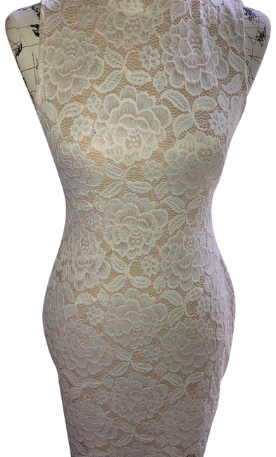 Item - White Short Night Out Dress Size 6 (S)