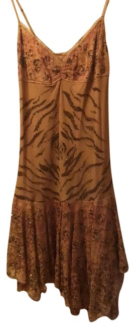 Preload https://img-static.tradesy.com/item/23467762/marciano-nude-beige-natural-mid-length-night-out-dress-size-12-l-0-2-650-650.jpg