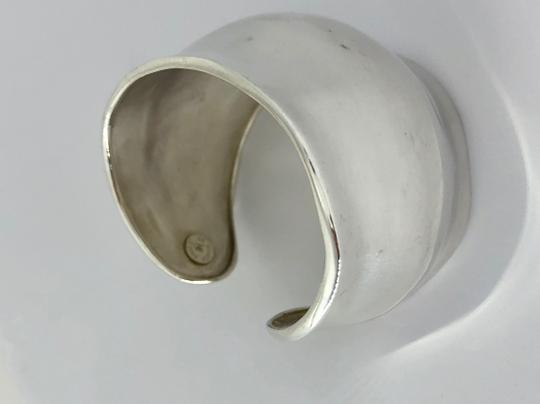 Robert Lee Morris RARE Collectible Gamma Cuff in Sterlling SIlver Image 1