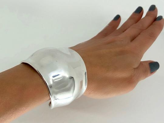 Robert Lee Morris RARE Collectible Gamma Cuff in Sterlling SIlver Image 2