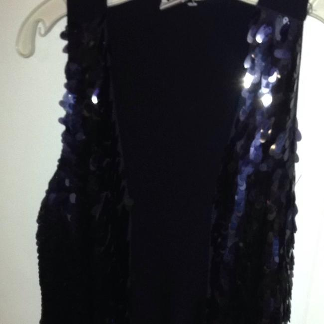 Cache Sequinned Sequined Vest