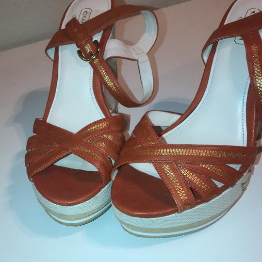 Coach Orange Wedges Image 2