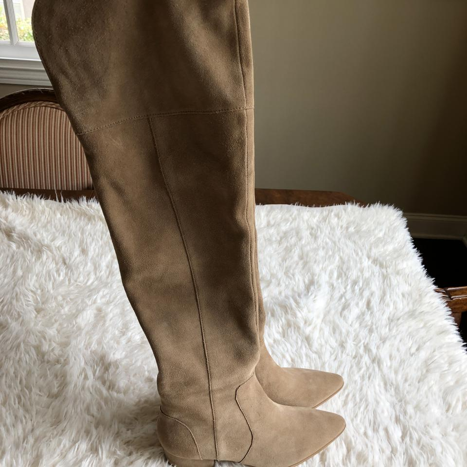 24bd5cc8a11 Splendid Taupe Ruby Over The Knee Boots Booties Size US 7 Regular (M ...