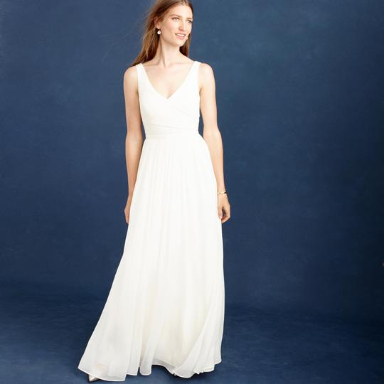 Preload https://img-static.tradesy.com/item/23468376/jcrew-ivory-silk-chiffon-heidi-feminine-wedding-dress-size-4-s-0-0-540-540.jpg