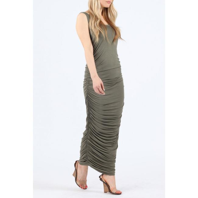 olive Maxi Dress by Missi Image 1