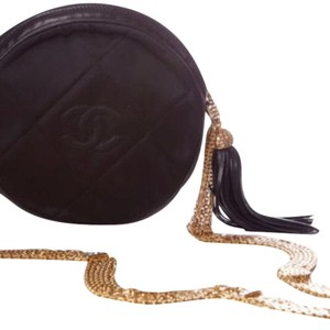 Chanel Vintage Silk Evening Shoulder Bag