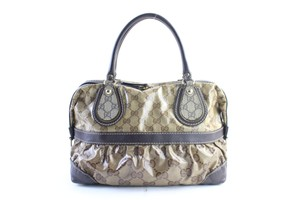 Gucci Bosotn Hysteria Soho Marmont Sylvie Satchel in Brown