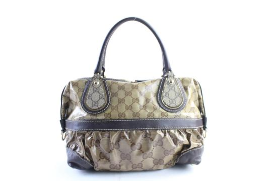 Gucci Bosotn Hysteria Soho Marmont Sylvie Satchel in Brown Image 7