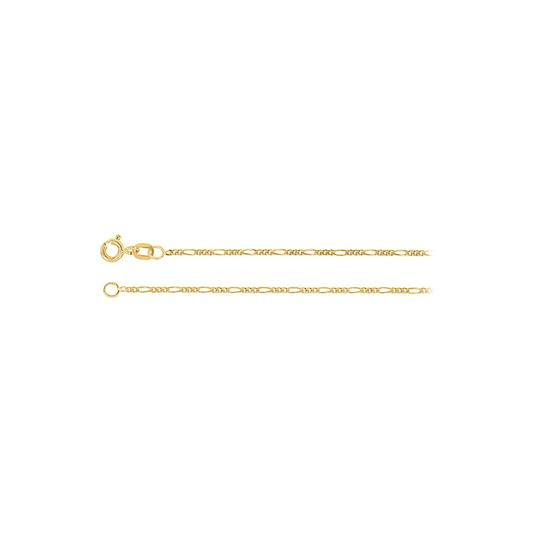 Preload https://img-static.tradesy.com/item/23468805/yellow-mens-15mm-14k-gold-solid-figaro-chain-necklace-0-0-540-540.jpg