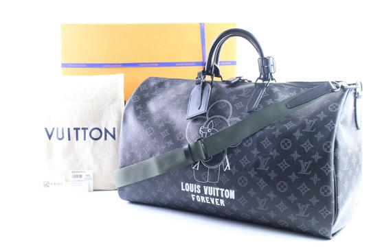 Louis Vuitton Supreme Monogramouflage Monogram Camo Racer Stephen Sprouse Black Travel Bag Image 1