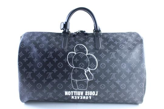 Louis Vuitton Supreme Monogramouflage Monogram Camo Racer Stephen Sprouse Black Travel Bag Image 2