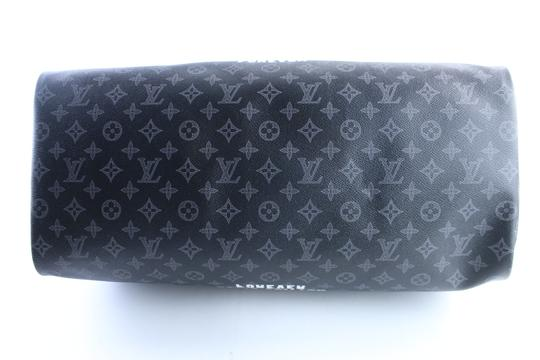 Louis Vuitton Supreme Monogramouflage Monogram Camo Racer Stephen Sprouse Black Travel Bag Image 9