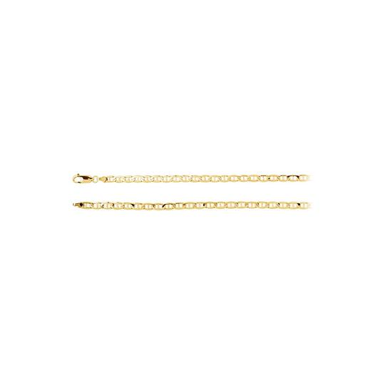 Preload https://img-static.tradesy.com/item/23468947/yellow-solid-anchor-chain-14k-gold-45-mm-necklace-0-0-540-540.jpg