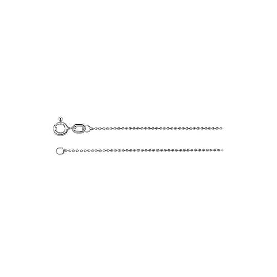 Preload https://img-static.tradesy.com/item/23468949/white-solid-bead-chain-14k-gold-1mm-necklace-0-0-540-540.jpg