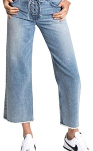 A.L.C. Relaxed Fit Jeans-Light Wash